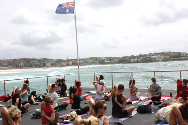 Yoga at Bondi